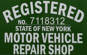 Registered Motor Vehicle Repair